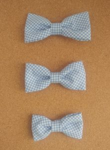 3 sizes of Bow Ties